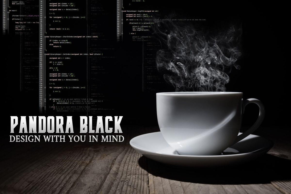 Pandora Black Web Design & Maintenance with Wonder Women Sixty